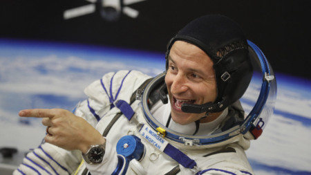 Американският астронавт Андрю Морган