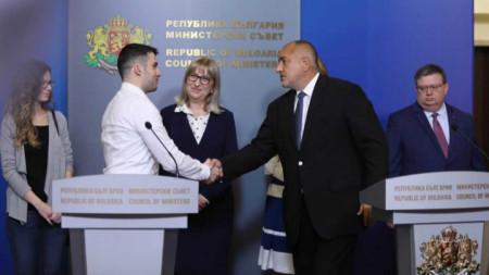 Бойко Борисов и Желяз Андреев