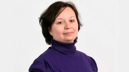 """Марианна Беленкая, политически наблюдател на Издателска къща """"Комерсант"""""""