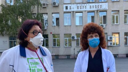 Д-р Дориана Маринова и д-р Мария Абрашева