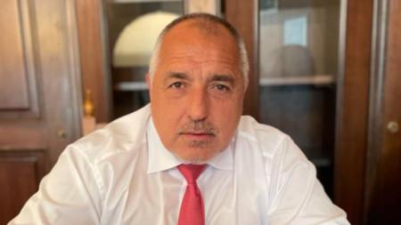 Премиерът в оставка Бойко Борисов