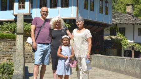 Семейство Бойчеви от Русе, 14-милионният посетител в