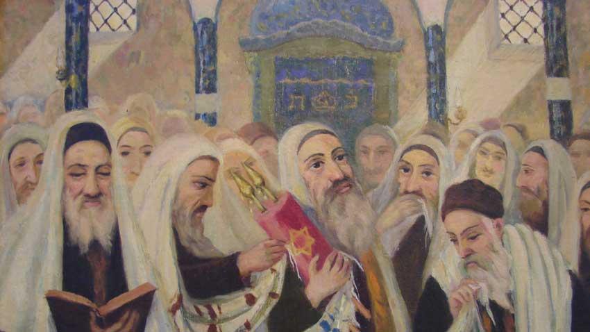 """""""Jom Kippur"""" von Mordohai Benzion"""