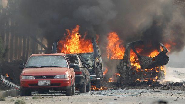 Коли горят при атаката срещу офиса на