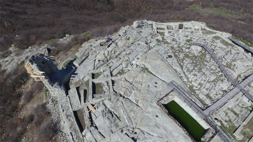 Perperikon seen from the air