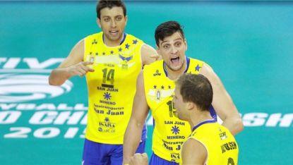Теодор Салпаров, Тодор Алексиев и Николай Учиков с победи в Бразилия