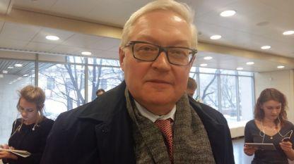 Сергей Рябков - заместник-министър на външните работи на Руската федерация