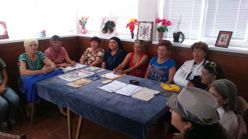 Група за автентичен фолклор при село Змеево.
