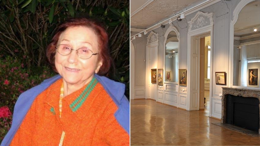 margarita zanef la benefactora más generosa de la galería nacional