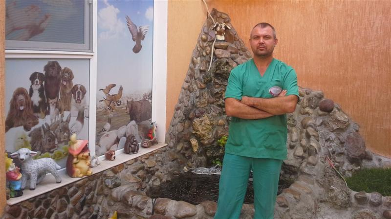 д-р Александър Александров, председател на Киноложко дружество- Лом