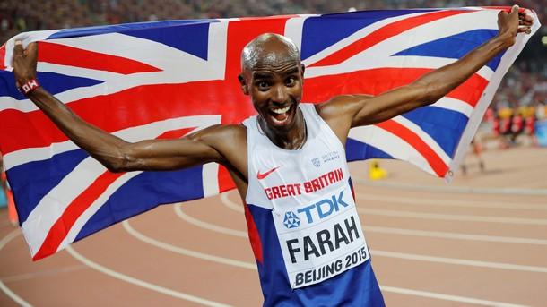 Двукратният олимпийски шампион на 10 000 м Мо Фара ще