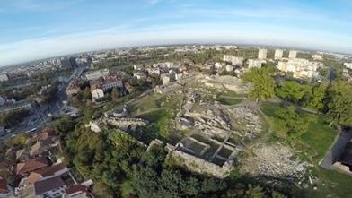 Кадър от филма за Пловдив