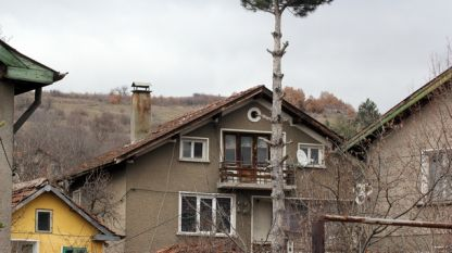 Къщата, в която е извършено убийството в Нови Искър
