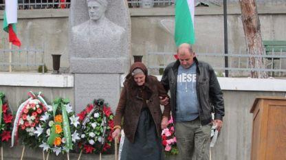 Паметник на Васил Левски в село Новоселяне