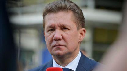 """Председателят на управителния съвет на """"Газпром"""" Алексей Милер"""