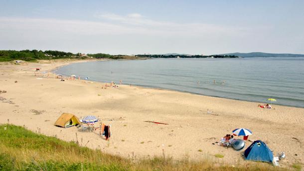 Плажът на къмпинг