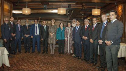 Вицепремиерът и министър на външните работи Екатерина Захариева и посланици на арабските държави у нас