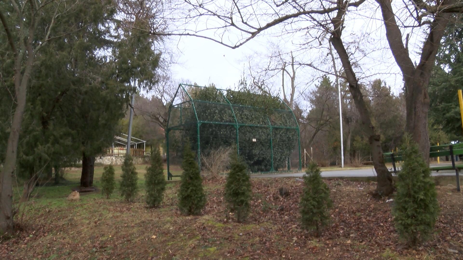 В проекта за реконструкция на парк Аязмото, който предлага общината,