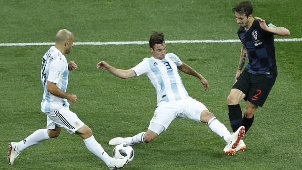 Хърватия помете Аржентина с 3:0
