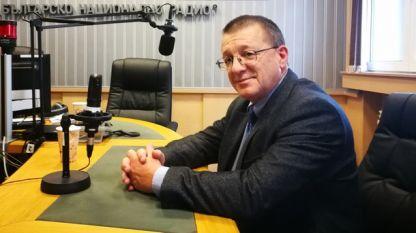 Бойко Ноев в студиото на БНР