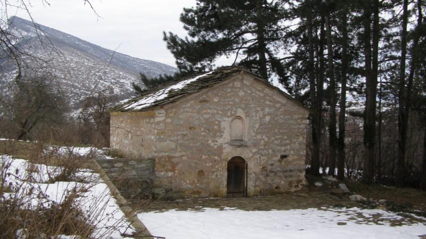 Църквата в село Върбово