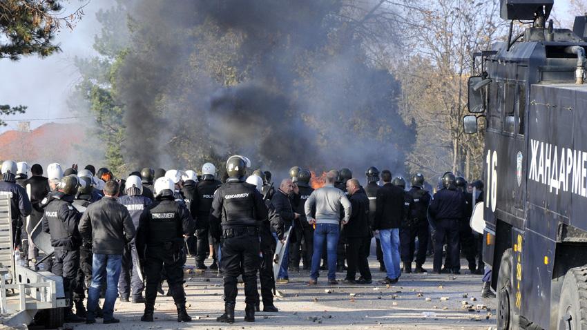 Бунтът на мигранти в Харманли през 2016-а