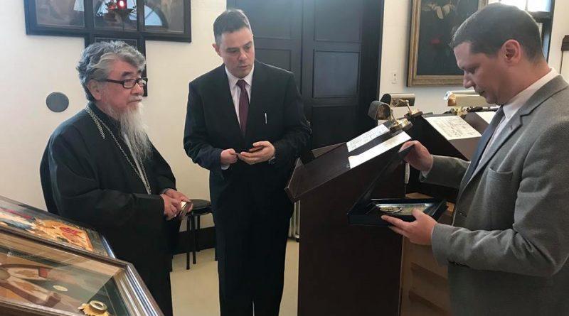 Областният управител на Софийска област Илиан Тодоров се срещна с митрополита на Хокайдо Шинонаг