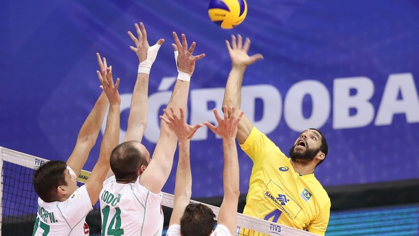 Волейболистите отстъпиха на Бразилия с 0:3 в Аржентина