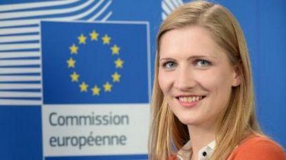 Наташа Берто - говорител на ЕК