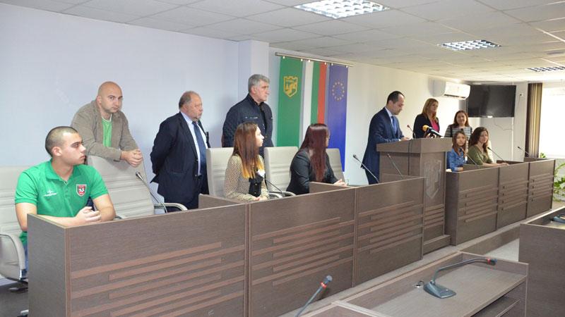 Мениджър за един ден в Община Враца, Снимка: Община Враца