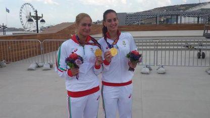 Сестри Стоеви златни в Баку