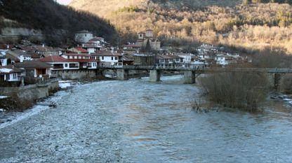 Река Янтра при Велико Търново