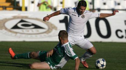 Галин Иванов вкара третия гол срещу