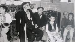 От ляво на дясно- свекърът Михаил Кънин, бащата на Емилия- Кръсто Джонов и майка й- Невена Джонова
