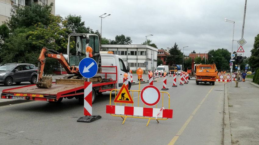 В 36 селища в община Велико Търново започнаха инфраструктурни ремонти