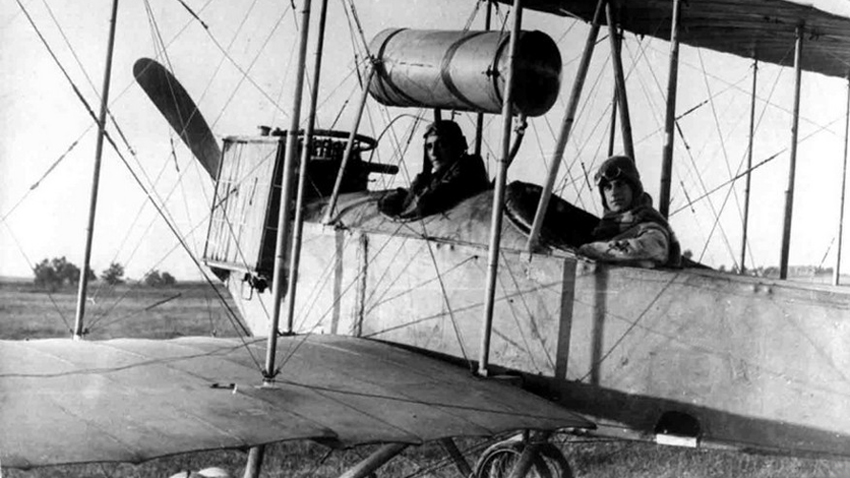Первый болгарский самолет – «Йорданов – 1».