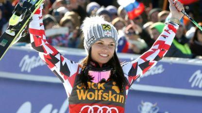 Марсел Хиршер и Анна Фенингер са номер 1 в ските за 2015 година
