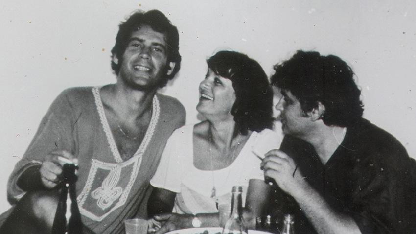 Стефан Данаилов, Лина Бояджиева и Боян Иванов, 1978 г. (отляво надясно).