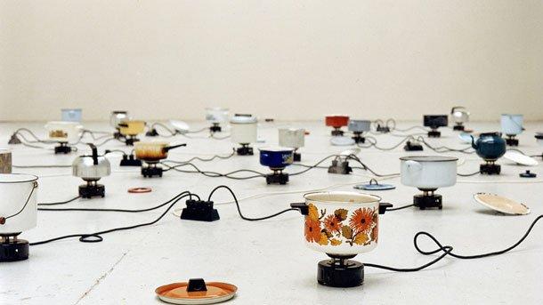 """Инсталацията """"Трансформацията винаги отнема време и енергия"""" на Правдолюб Иванов е първото произведение, което беше включено във виртуалния Музей за съвременно изкуство"""