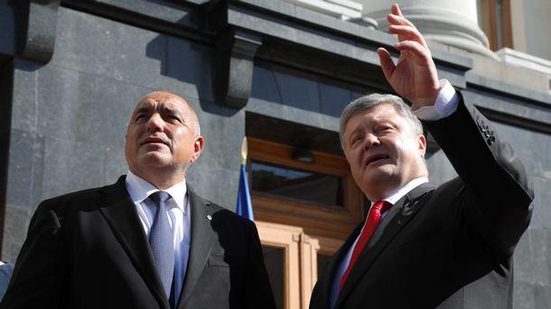 В рамките на посещението си в Украйна премиерът Бойко Борисов