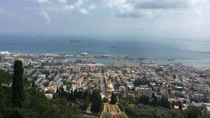 Изглед от Хайфа
