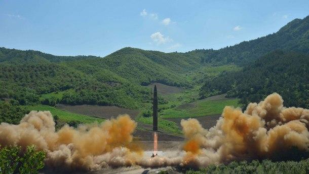 Севернокорейската ракета