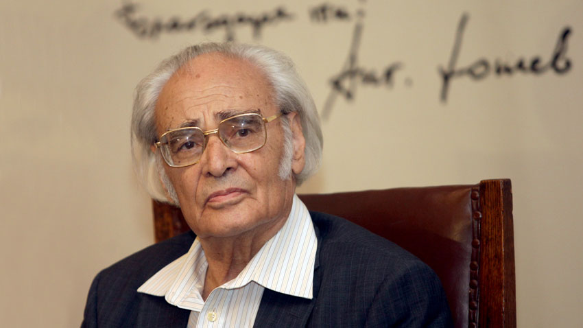 Writer, Academician Anton Donchev