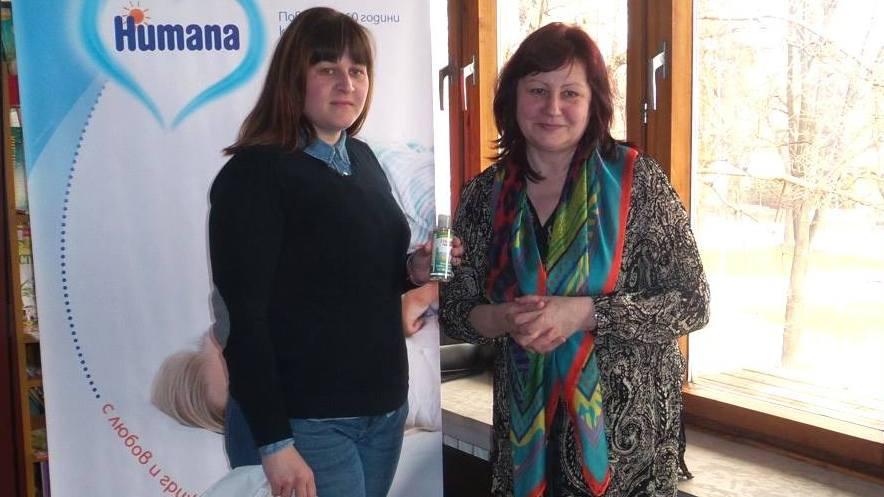Д-р Илияна Цанкова /вдясно/ бе лектор в училището за родители във Видин.