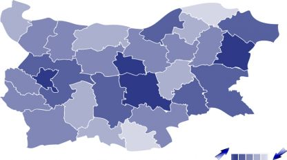 Economic growth of the regions in Bulgaria
