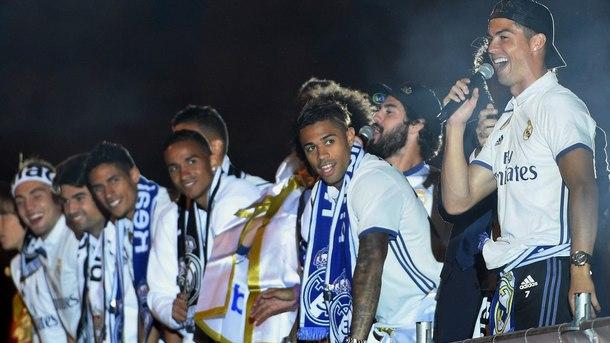 """""""Реал"""" (Мадрид) спечели титлата"""