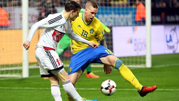 Швеция победи с 4:0 Беларус