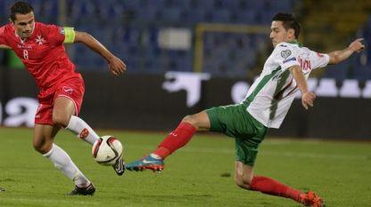 Георги Миланов (вдясно) донесе успеха на ЦСКА срещу