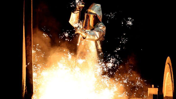 """Новата компания """"Тисенкруп Тата стийл"""" ще произвежда 21 милиона тона стомана годишно."""