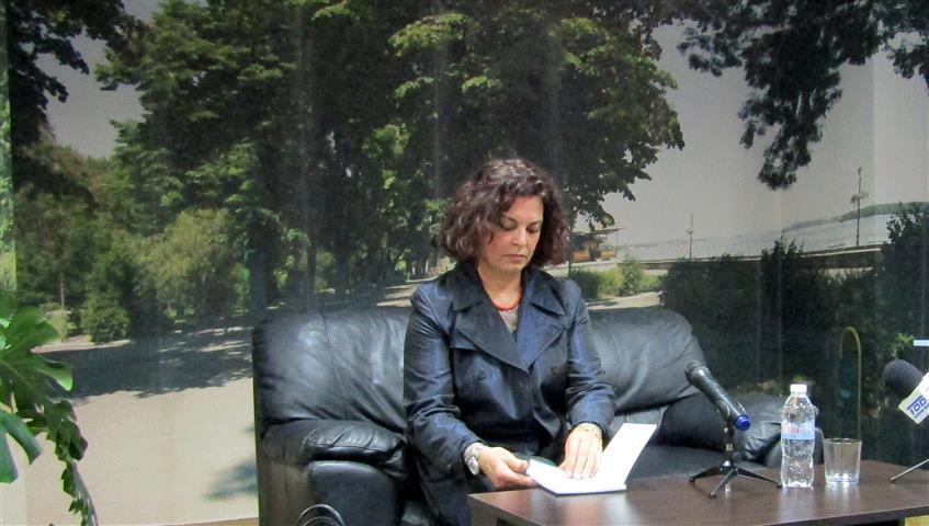Анна Мария Петрова-Гюзелева, Снимка: Ваня Минева